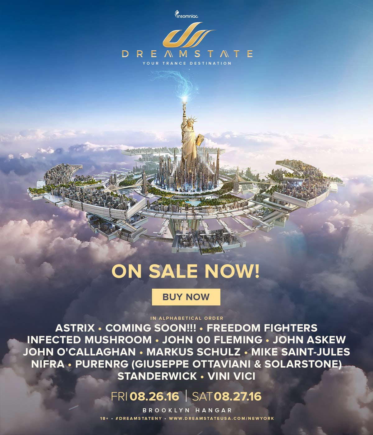 Dreamstate New York